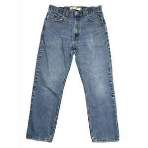 Levi's 34x30 505 Regular Fit Light Wash Jeans GUC